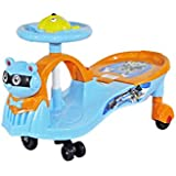 Babysid Collections Shake & Go Ride On - Orange - With Music