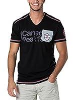 CANADIAN PEAK Camiseta Manga Corta Jurassic (Negro)