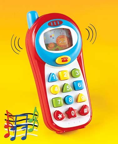 Light & Sound Baby Teaching Phone - 1