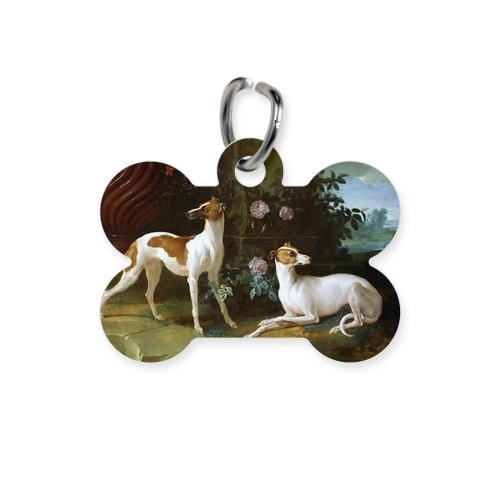 Cafepress Louis Xv Oil On Canvas - Bone Pet Tag - Standard White [Misc.]
