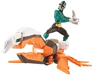 Power Rangers Power Rangers Zord Vehicle with Figure, BeetleZord and Green Ranger