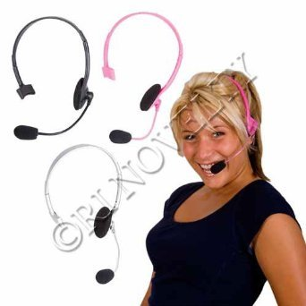 Rica-Micro (1 Dozen, Pink) Pop Star Headset Prop Only