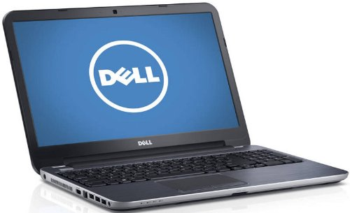 Dell - Inspiron 15R-5537 (Moon Silver) - Intel Dual-Core i7-4500U 1.80GHz - 8GB RAM - 1TB HDD - DVD±RW - Webcam - Win 8 - 15.6-inch Touchscreen
