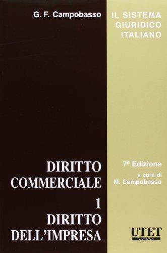 Diritto commerciale 1 PDF