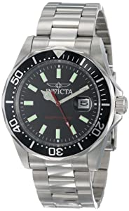 (新品)秒杀Invicta Men's 15445 Pro Diver Black Dial 高端百米防水腕表 $49.99
