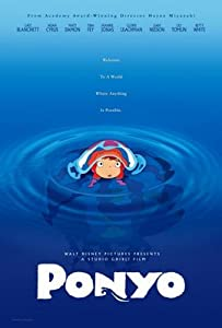 PONYO - X ORIGINAL MOVIE POSTER