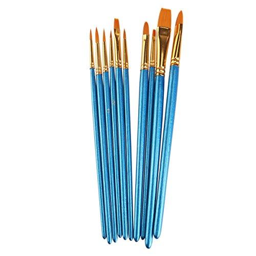 vorcool-pittura-ad-acquerello-pennello-set-pennelli-di-nylon-10pz-blu