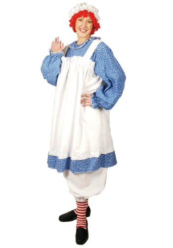 BuySeasons Women's Raggedy Ann Adult Plus Costume
