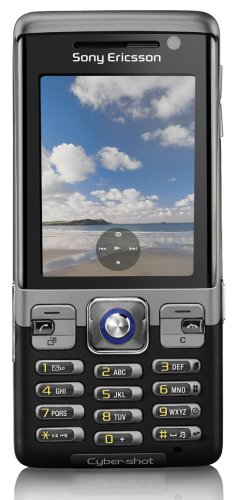 Sony Ericsson C702 Speed Black UMTS Outdoor Handy