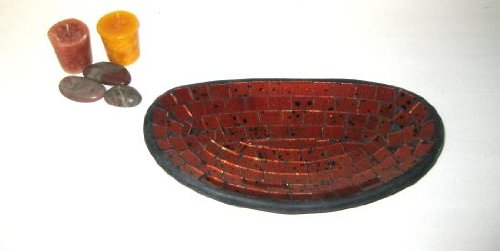 Decorative Plate Serving Dish Candy Dish Mosiac