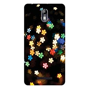GripIt Falling Flowers Case for Micromax Canvas Evok
