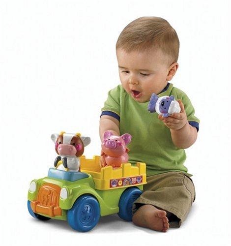 Imagen 2 de Fisher-Price - Push And Go camiones Granja (Mattel)