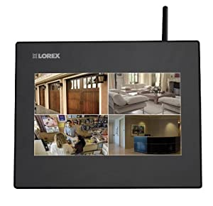 Camera không dây Lorex Wireless Video Monitoring System with 4 Cameras (LW2714B)