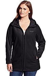 Columbia Women's Plus-Size Benton Springs II Long-Sleeve Hoodie