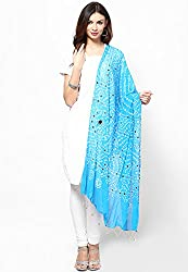 Soundarya Ethnicwear Cotton Bandhej Handwork Dupatta for Women (3052)