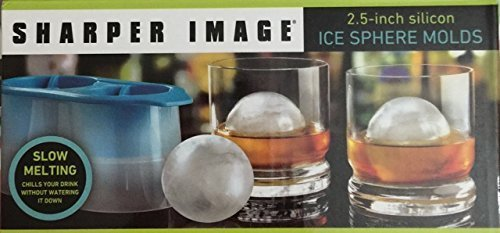 sharper-image-25-inch-silicon-ice-sphere-molds-by-sharper-image