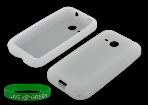 Clear Silicone Skin Case For Htc Droid Eris 6200 Phone, Verizon Wireless
