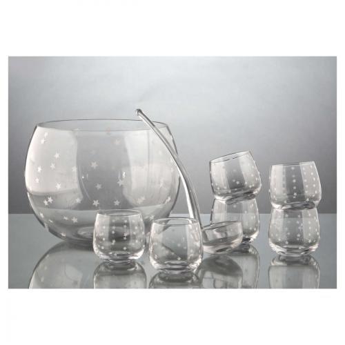Servir / Conserver - Set Punch / 6 verres