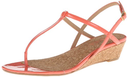 Splendid Women'S Edgewood Wedge Sandal,Light/Coral Patent,9.5 M Us front-1050781