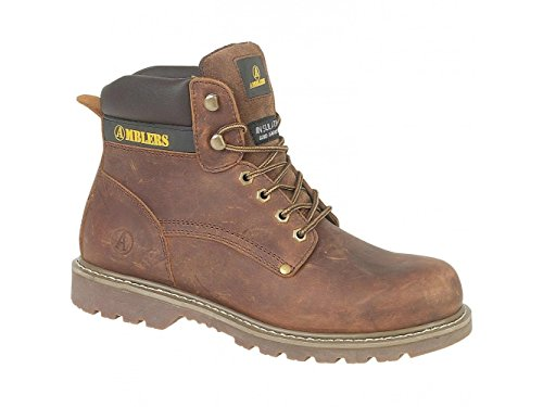 Amblers Dorking Mens Casual Stivali da lavoro Marrone, marrone (Brown), 39.5