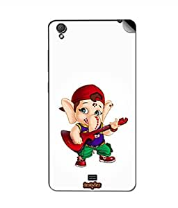 instyler SKIN STICKER FOR GIONEE PIONEER P4S