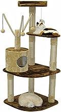Go Pet Club F214 60-Inch Cat Climber Furniture Condo, Brown and Beige