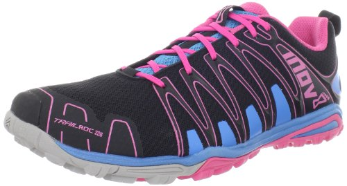 Inov-8 Women's Trailroc 236 Trail Running Shoe,Black/Blue/Pink,8 M US