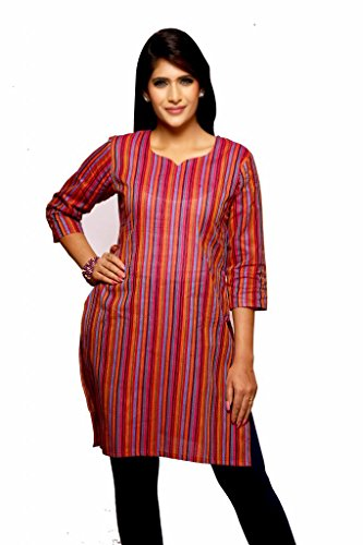 Weaves Suvasthra Weaves Women's Kurti (Red)