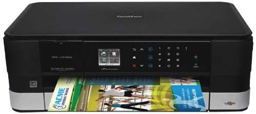 Brother Printer Mfcj4310Dw Wireless Color Inkjet Printer With Scanner, Copier And Fax