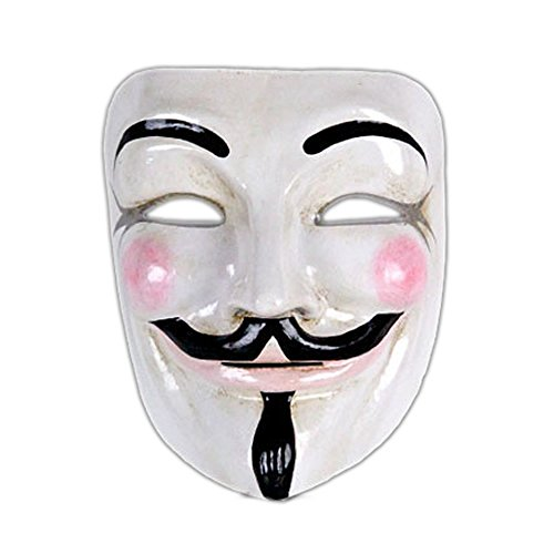 VIVO Mens Authentic V for Vendetta Mask