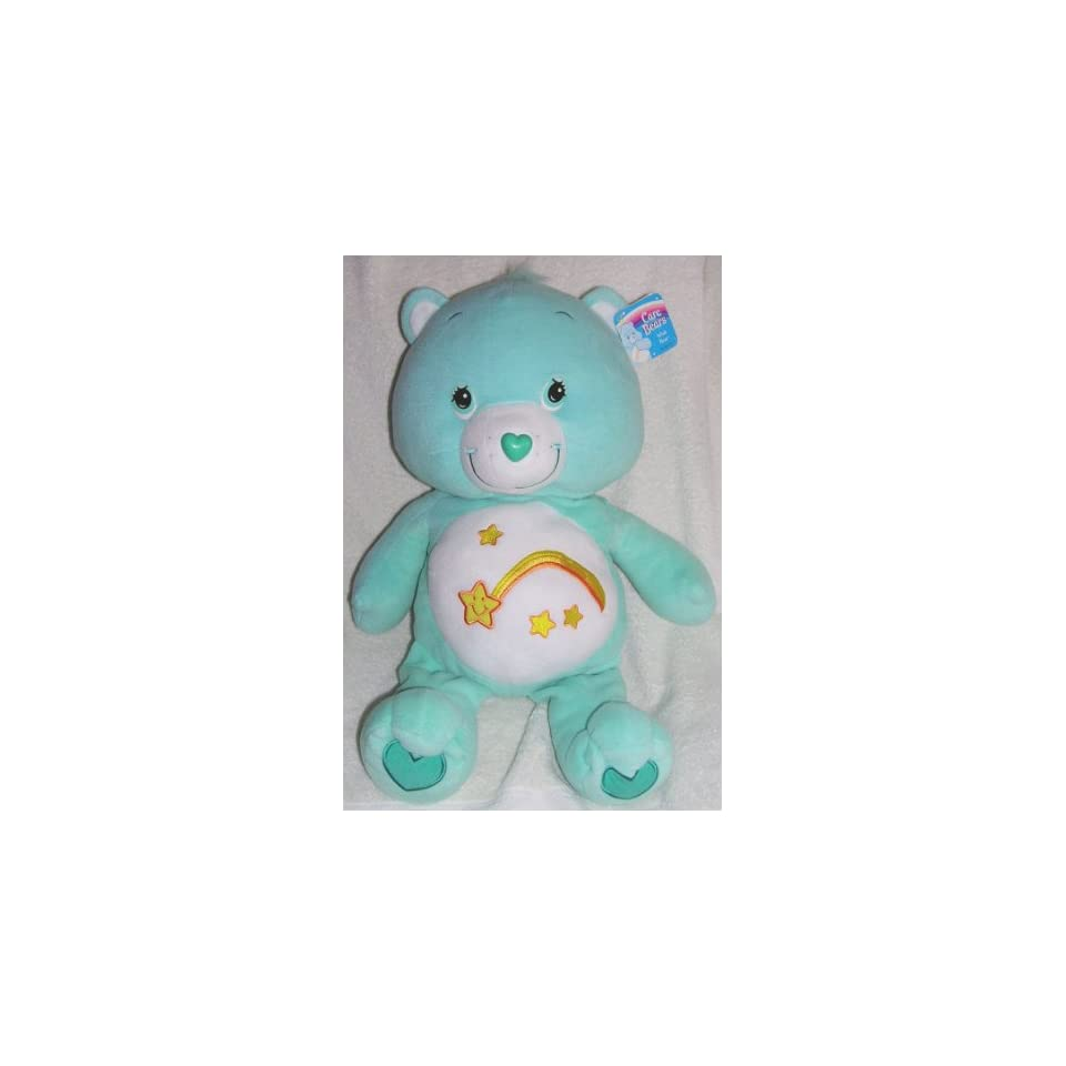 2004 Care Bears 24 Large Jumbo Plush Wish Bear