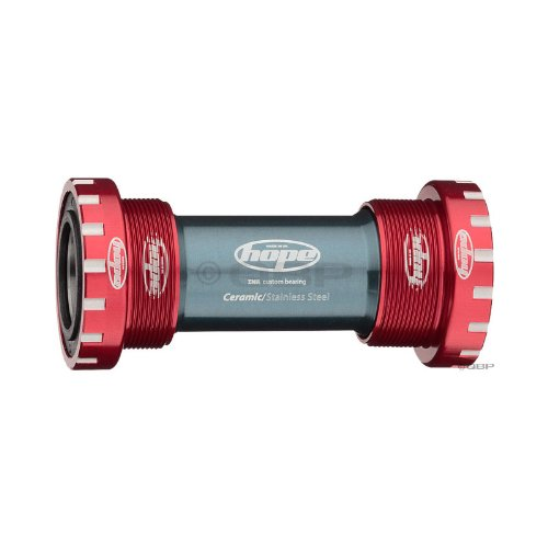 Hope CERAMIC external Bottom Bracket cupset, red