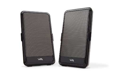 Cyber Acoustics Ca-2988 Usb Powered Speaker - Portable Design (2, Black)
