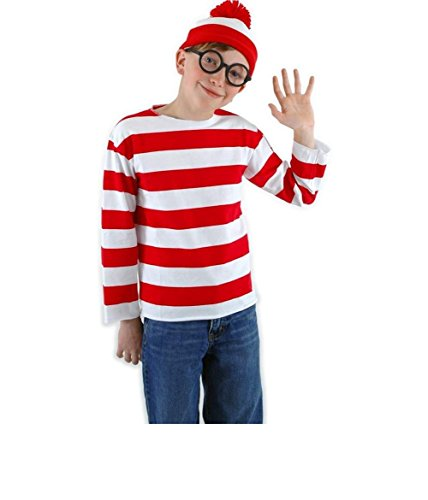 Maconaz Where's Waldo Kids Costume Kit
