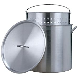 Kajun Kitchen 80-Quart Aluminum Outdoor Stock Pot from Rankam Metal Products Manufactory Ltd