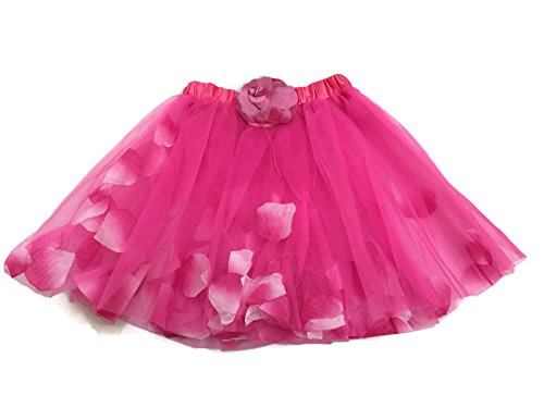 Rush Dance Flowers Petals Ballerina Girls Dress-Up Ballet Costume Recital Tutu