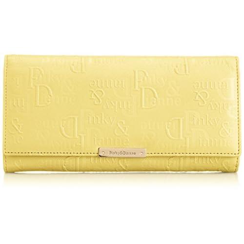 [ピンキーアンドダイアン] Pinky&Dianne ツイルエンボス 薄型長財布 PDLW5CT2 70 (イエロー)