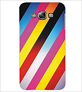 PrintDhaba Pattern D-5305 Back Case Cover for SAMSUNG GALAXY A8 (Multi-Coloured)