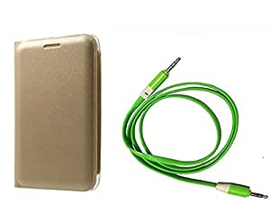 Novo Style Samsung GalaxyJ7 Window View Premium Flip Cover Case W Stand View+ Mini USB LED Light Adjust Angle / bendable Portable Flexible USB Light