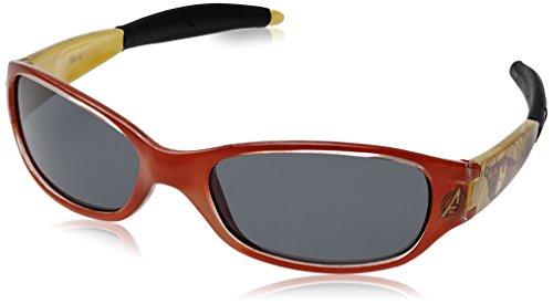 Disney Marvel Oval Sunglasses (Red And Yellow) (C30286-(Red & Yellow)) (Multicolor)