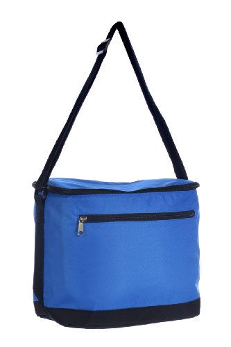 12-can Large Vertical Insulated Cooler Bag, Royal Blue by BAGS FOR LESSTM