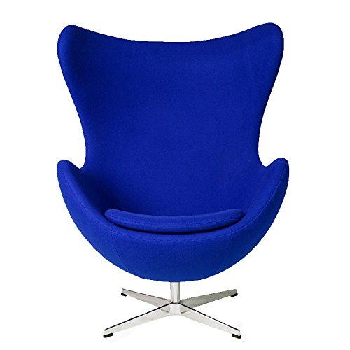 エッグチェア ファブリック仕様 ブルー アルネヤコブセン eggchair ソファ ソファー sofa