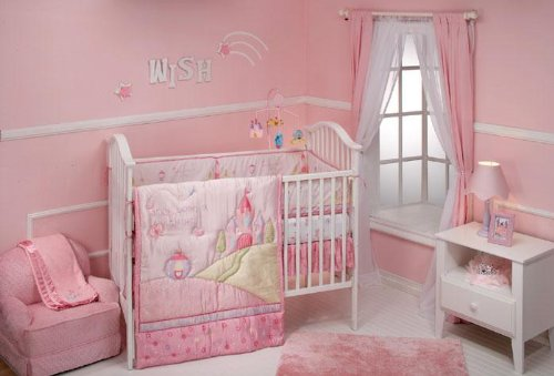 How to get Disney Princess Once Upon a Time 4 Piece Crib Bedding Set for sale