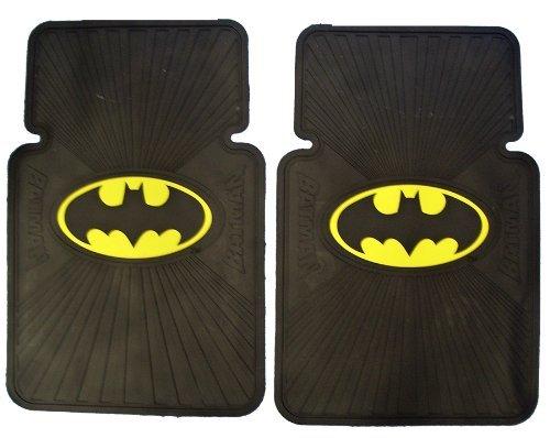 Front Car Truck SUV Rubber Floor Mats - Batman Classic Logo