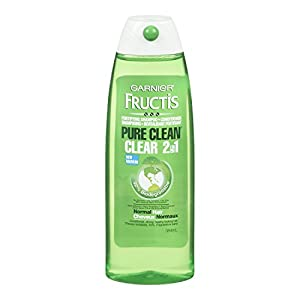 Garnier  Fructis Pure Clean 2-in-1 Shampoo and Conditioner for Normal Hair, 13 Fluid Ounce