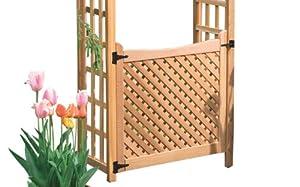 Arboria 36-Inch Cedar Garden Gate