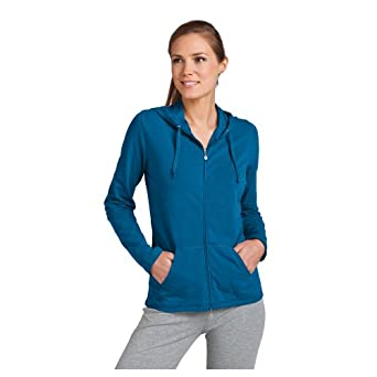 Coolibar UPF 50+ Women's ZnO Seaside Hoodie - Sun Protection: Clothing