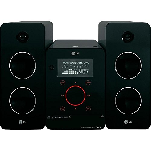 LG FA162 Micro-Hi-Fi-System (160 Watt, CD, MP3, WMA, USB) schwarz