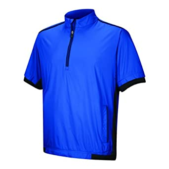 Adidas Golf Mens Climaproof Stretch Wind Short Sleeve Jacket by adidas