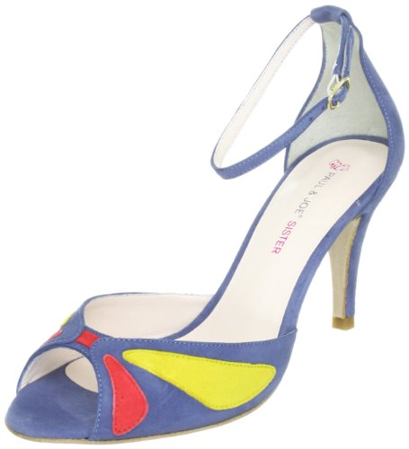 Paul & Joe Sister DOROTHE 211804-50, Sandali donna, Blu (Blau (MULTICOLORE 2)), 40